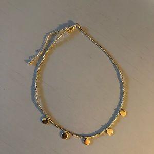 Francesca's Short Gold Necklace